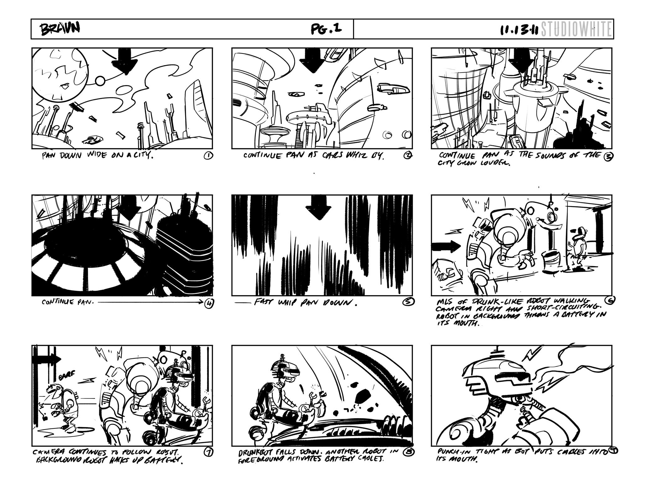 """Shane White"" ""Braun"" ""storyboard"" ""animation"""